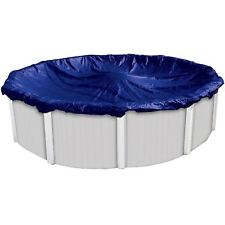 Above-Ground Swimming Pool Cover Dirt Defender Quality 8-Year 24 Ft Foot Round