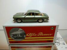 TOGI 8/65 ALFA ROMEO GIULIA GT 2000 - GREEN METALLIC 1:23 - GOOD IN BOX