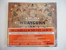 WRAYGUNN : SHANGRI-LA (EDITION COLLECTOR - LIVRET EXCLU)    CD NEUF ! PORT 0€