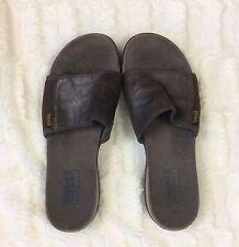 Women's Timberland Smart Comfort Slides Black Sandals Size 7.5 7 1/2 Slip On's