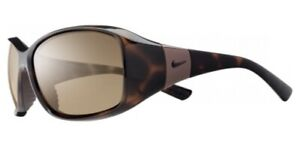 NIKE WOMENS Sunglasses MINX EV0579 202 Tort 59MM Sports 3Point Grip 100% UVA UVB