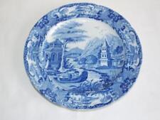 Dinner Plates Blue Georgian Date-Lined Ceramics