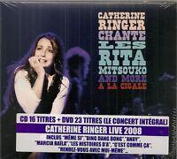 "DVD ""RINGER CATHERINE A LA CIGALE""  (CD + DVD) NEUF SOUS BLISTER"