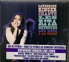 - RINGER CATHERINE A LA CIGALE  (CD + DVD) NEUF SOUS BLISTER