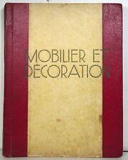 Mid-Century Modern interior design: Mobilier et Decoration, 1950