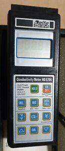 DELTA OHM CONDUCTIVITY METER HD8706