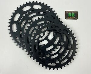 SUGINO Black 39 40 41 42 45 'Reanodised from NOS' Chainring Old School BMX