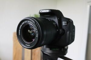 Canon EOS 700D T5i DSLR Camera with EF-S 18-55mm Kit Lens - Boxed