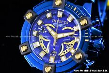 Invicta Men 63mm Coalition Force Grand Octane Blue Label High Polish Swiss Watch