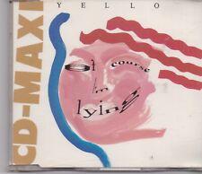 YELLO-Of Course Im Lying cd maxi single 3 tracks