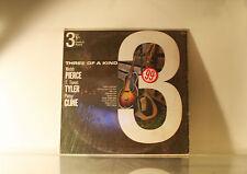 PIERCE, TYLER & PATSY CLINE - 3 OF A KIND - DESIGN IN SHRINK VINYL LP ALBUM