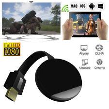 Wireless WiFi Miracast HDMI 1080P TV Streamer Media for Chromecast  4 Generation