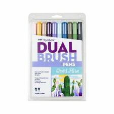 Tombow 56197 Dual Brush Pen Art Markers, Desert Flora 10-Pack