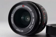 【A- Mint】 Konica M HEXANON 28mm f/2.8 Lens for Leica M Mount From JAPAN #2668
