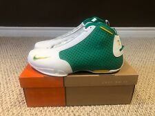 DS Nike Zoom Flight 2K3 Seattle Supersonic Rashard Lewis PE Promo Exclusive