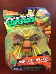 "Teenage Mutant Ninja Turtles MIKEY TURFLYTLE 5"" Action Figure 2014 Nickelodeon"