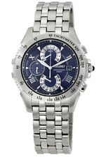 SEIKO LE GRAND SPORT CHRONOGRAPH DATE BLUE DIAL SAPPHIRE MEN'S WATCH SPC043 NEW