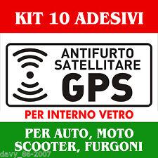 ADESIVO ANTIFURTO SATELLITARE GPS PER CAMION AUTOVEICOLI