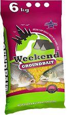1kg=1,65€ Starfish Weekend 6 kg Fischfutter / Lockfutter für Fließgewässer