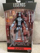 Marvel Legends HASCON Exclusive Gray DEADPOOL Uncanny X-FORCE Action Figure Taco