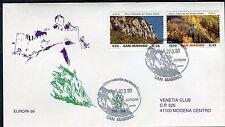 SAN MARINO 1999 EUROPA-EUROPA THEM/NATURAL PARK/ROCK/MOUNTAIN/TREES FDC