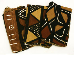 Handwoven Mud Cloth Bambara (4Color)