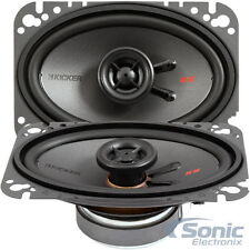 "KICKER 300W 4 x 6"" KS Series 2-Way Coaxial Car Stereo Speakers 