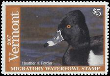 VT22 2007 Vermont State Stamp MNH