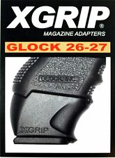 X-Grip GL26-27 Use Glock G17/22/31 Full-Size Mag in G26/27/33 Sub-Compact NEW