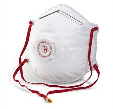 Wholesale 120 x FFP2V BBP2V Dust Masks Valved Respirators - DIY Building Clean
