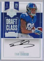 EVAN ENGRAM - 2017 Contenders Rookie Draft Class Holo SP AUTO /49 - NY Giants RC