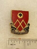 Authentic US Army 53rd Field Artillery Battalion DI DUI Crest Insignia NH