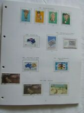More details for australia 1981-90 used stamp collection on illustrated album pages