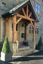 RUSTIC MADE TO MEASURE TANALISED ENTRANCE PORCH / ENTRANCE CANOPY