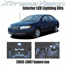 XtremeVision LED for Saturn Ion 2003-2007 (4 Pieces) Cool White Premium Interior