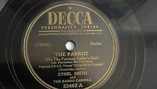 Ethel Smith- 78rpm single 10-inch – Decca #23462 The Parrot Samba