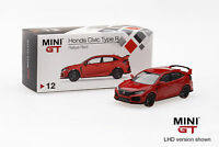 Mini GT 1/64 2017 Honda Civic Type R (FK8) Rallye Red Diecast Car TSM MGT00012