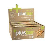 Greens Plus +PlusBar Protein Bars Box Natural _12 Protein Natural Bars