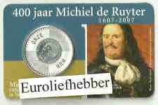 NEDERLAND  Michiel de Ruyter  VIJFJE    400 JAAR Michiel de Ruyter   IN COINCARD
