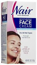 NAIR HAIR REMOVER MOISTURIZING FACE CREAM - 2 OZ upper lip, chin