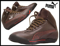 Boys Puma Trainers Speed Cat 2.9 Mid GTX JR Casual Lace Up Sports High Ankle