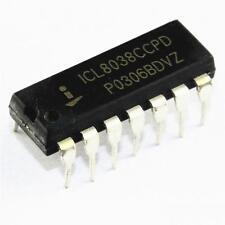 2pcs Brand New ICL8038CCPD ICL8038 DIP-14 INTERSIL NEW