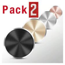 2-Pack Metal Plate Universal Sticker For Phone Magnetic Car Mount Magnet Holder