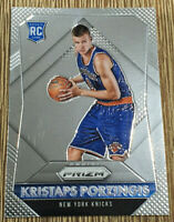 2015-16 Panini Prizm Kristaps Porzingis Rookie RC #348 New York Knicks