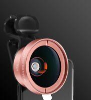 2in1 Universal Clip on Mobile Phone Camera Lens Kit Fisheye Wide Angle Macro