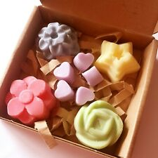 PERFUME BOX...HIGHLY SCENTED HOMEMADE HANDMADE SOY WAX MELTS TARTS CANDLES