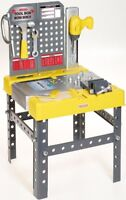 Casdon Little Helpers Toolbox & Workbench 2 In 1 Toy Playset & Accessories