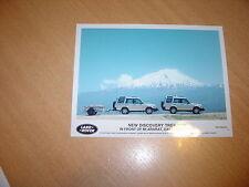 PHOTO DE PRESSE ( PRESS PHOTO ) Land Rover Discovery Trek de 1998 R0131