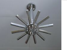 """Star duré tête de douche 20CMS 8"""" & Plafond Monté Bras, Laiton & Chrome, 004 C"""