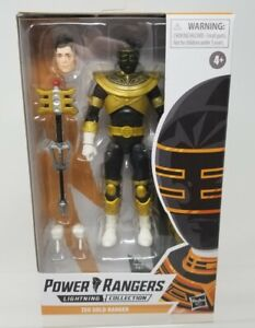 Power Rangers Lightning Collection Zeo Gold Ranger Trey of Triforia